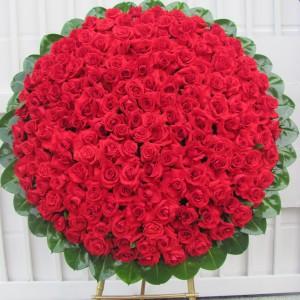 Corona Rosas Rojas