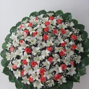 Corona Rosas y Azucena